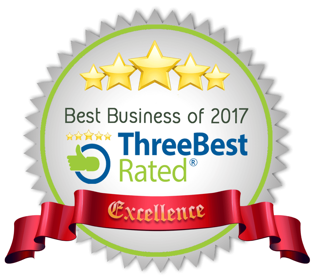 Top Three Best Rated Business