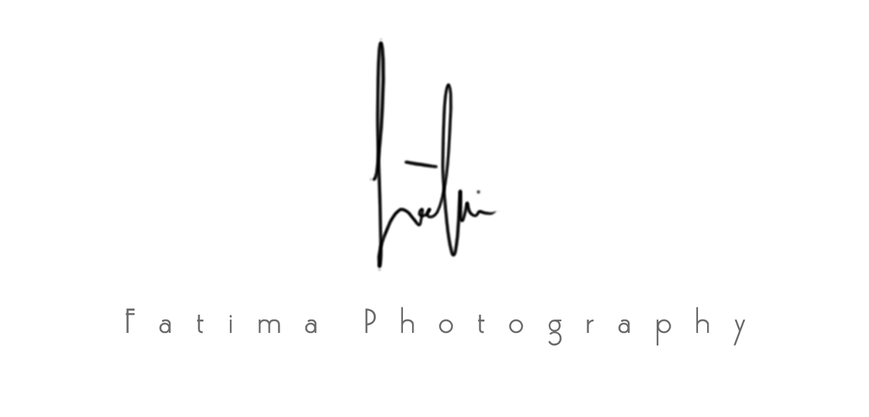 Fatima Photography Signature Logo
